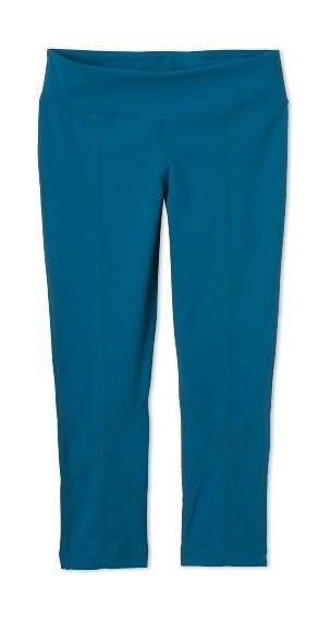 Prana W's Prism Capri Legging Ink Blue